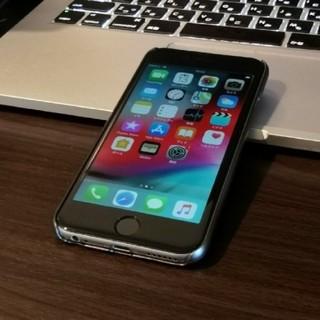 iPhone - iPhone6 SoftBank 128GB 電池100% Spigen ケース