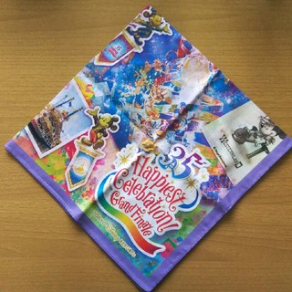 Disney - ディズニー35周年  グランドフィナーレ   ★バンダナ★