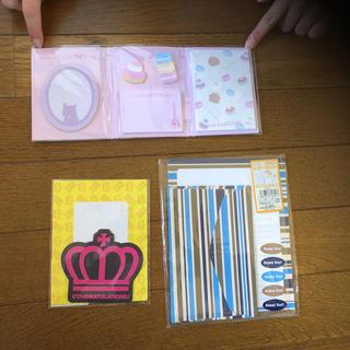 メモ帳 系 笑    総額1100円⇒300円(ノート/メモ帳/ふせん)