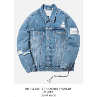 Levi's - KITH X LEVI'S THRASHED TRUCKER JACKET
