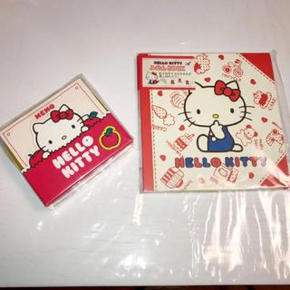 ハローキティ(ハローキティ)のキティちゃん ふせんBOOK ボックス入りメモ(ノート/メモ帳/ふせん)