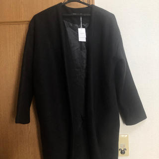 INGNI - INGNI フェイクスライバーノーカラーコート  黒