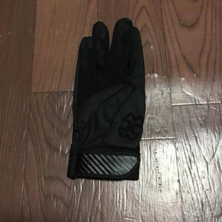 アンダーアーマー(UNDER ARMOUR)のアンダーアーマー バッティング 手袋 LG 左手 ブラック ブラック グローブ(グローブ)