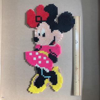 ディズニー(Disney)のミニーマウス アイロンビーズ インテリア(インテリア雑貨)