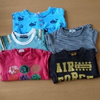 Tシャツ5枚セット 90サイズ