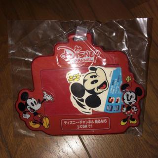 ディズニー(Disney)のネームホルダー  ミッキー  新品未使用(ネームタグ)