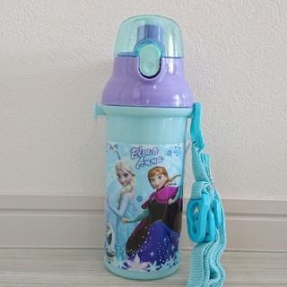 ディズニー(Disney)の新品 アナ雪 プッシュ式 直のみスポーツボトル 480ml(水筒)
