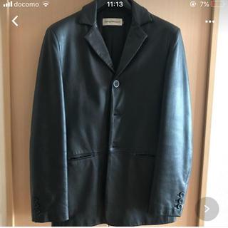 エンポリオアルマーニ(Emporio Armani)のアルマーニレザージャケット(レザージャケット)