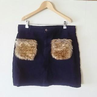しまむら - しまむら 大きいサイズ コーデュロイタイトスカート