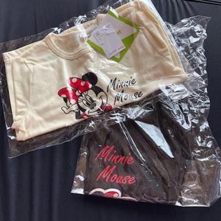 ディズニー(Disney)のミニー ロンT ズボン 95(パンツ/スパッツ)
