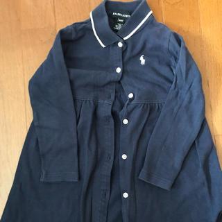 ラルフローレン(Ralph Lauren)のラルフローレンシャツワンピース90サイズ(ワンピース)
