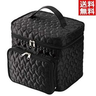 うれしい大容量 キルト コスメBOX 新品 おしゃれ(ケース/ボックス)
