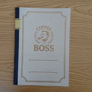 A4ノート 3冊セット BOSS(ノート/メモ帳/ふせん)