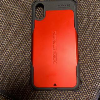 エレコム(ELECOM)のzeroshock  iPhoneケース スマホケース(iPhoneケース)