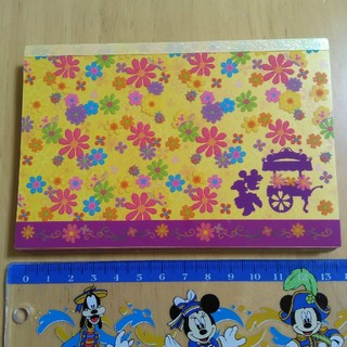 ディズニー(Disney)のディズニー メモ スプリングカーニバル 中古品(ノート/メモ帳/ふせん)