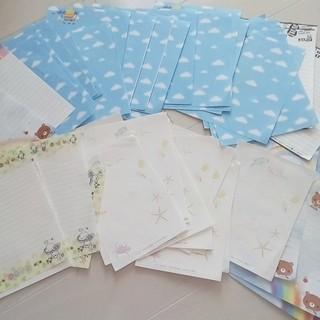 便箋 レターセット 大量(ノート/メモ帳/ふせん)