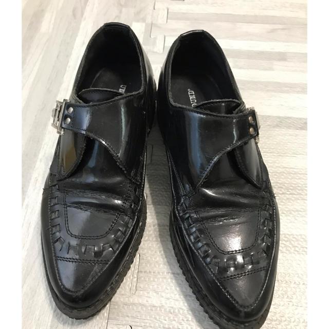 UNDERGROUND(アンダーグラウンド)のUNDERGROUND ラバーソールシューズ レディースの靴/シューズ(ローファー/革靴)の商品写真