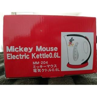 ディズニー(Disney)の1回のみ使用  Disney ミッキーマウス電気ケトル(電気ケトル)