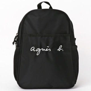 agnes b. - 新品 未使用 アニエスベー  ロゴリュック 大