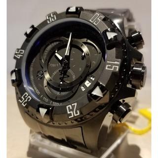 インビクタ(INVICTA)のInvicta 52mm エクスカーション コンバットブラック ETA搭載機☆(腕時計(アナログ))