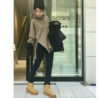 L'Appartement DEUXIEME CLASSE - アパルトモン◆Black Skinny ◆ size34