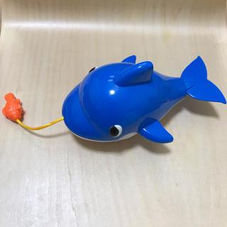 お風呂のおもちゃ。くじら(お風呂のおもちゃ)