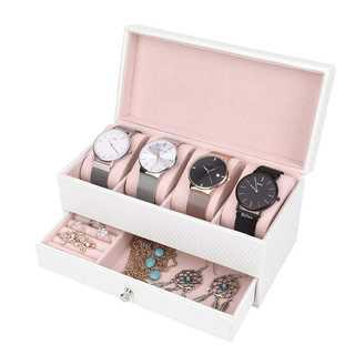 ♡可愛い♡腕時計収納ケース 4本用(ケース/ボックス)