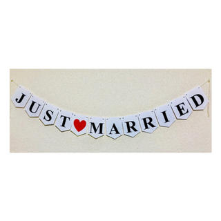 JUST♡MARRIED ガーランド 結婚式(その他)