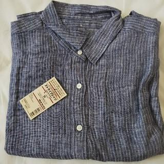 MUJI (無印良品) - 新品 無印良品 リネンシャツ M