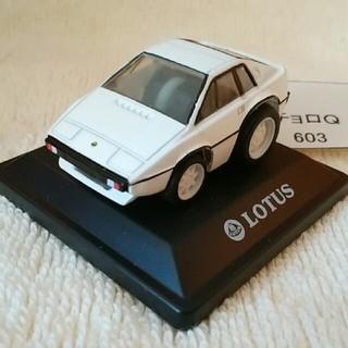 603 ちびっこチョロQ 外国車シリーズ ロータス エスプリ 白色(ミニカー)