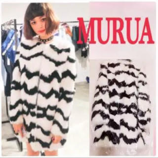ムルーア(MURUA)のMURUA リアルファーコート(毛皮/ファーコート)