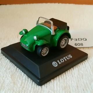 608 ちびっこチョロQ 外国車シリーズ ロータス セブン 緑色(ミニカー)