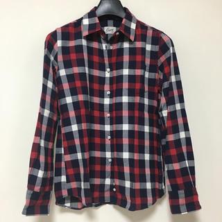 オリアン(ORIAN)のOrian オリアン チェックシャツ 40 ネルシャツ ネイビー(シャツ/ブラウス(長袖/七分))