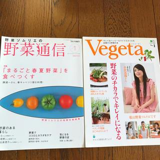 野菜通信 ベジータ 2冊セット(アート/エンタメ/ホビー)