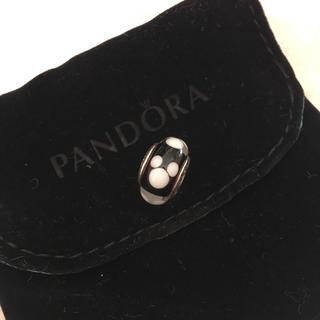 ディズニー(Disney)のパンドラ Pandora ディズニー ミッキー ムラノガラス チャーム (ブレスレット/バングル)