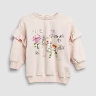 NEXT - 新品!ネクスト  スウェットシャツ◇花柄  ピンク