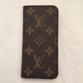 ルイヴィトン(LOUIS VUITTON)のルイヴィトンiPhoneカバーイニシャルM、K入り(iPhoneケース)