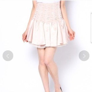 snidel - snidel サテンシャーリングスカート チュールスカート チュチュスカート