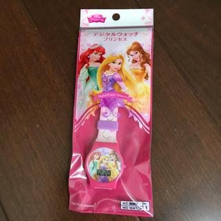 ディズニー(Disney)のディズニー プリンセス デジタルウォッチ(腕時計)