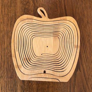 りんご型バスケット(バスケット/かご)