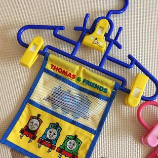 トーマス 子供用ハンガー(押し入れ収納/ハンガー)