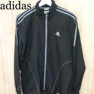 アディダス(adidas)の★未使用★adidas ウインドブレーカー  ランニングウェア メンズ 黒 長袖(ウェア)