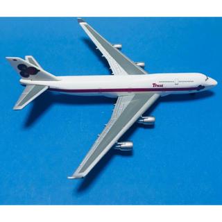 タイ航空 ボーイング747-400 herpa(航空機)