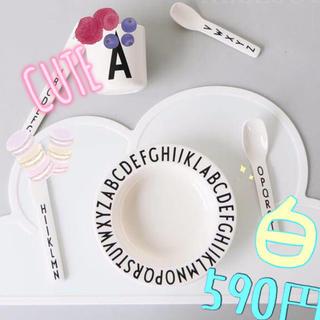 ランチョンマット 人気♡ ホワイト シリコン(テーブル用品)