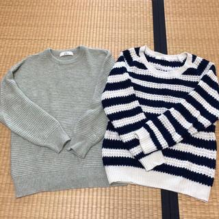 イッカ(ikka)のIKKA ikka セーター ニット 2点セット(ニット/セーター)