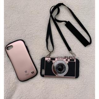 iPhone 7 サイズ ifaceとカメラ型ケース。(iPhoneケース)