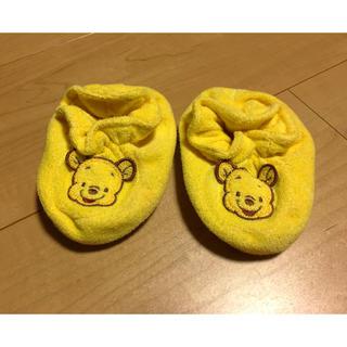 ディズニー(Disney)の〈値下げ〉プーさん ルームシューズ(靴下/タイツ)
