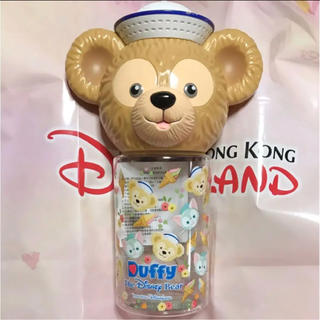 ディズニー(Disney)の新品未使用 香港ディズニー ダッフィー タンブラー ボトル400ml 日本未発売(タンブラー)