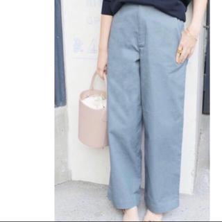 IENA - 定価9720円◆IENA イエナ  ワイドパンツ ブルー