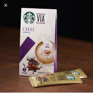 スターバックスコーヒー(Starbucks Coffee)のVIA チャイ(茶)